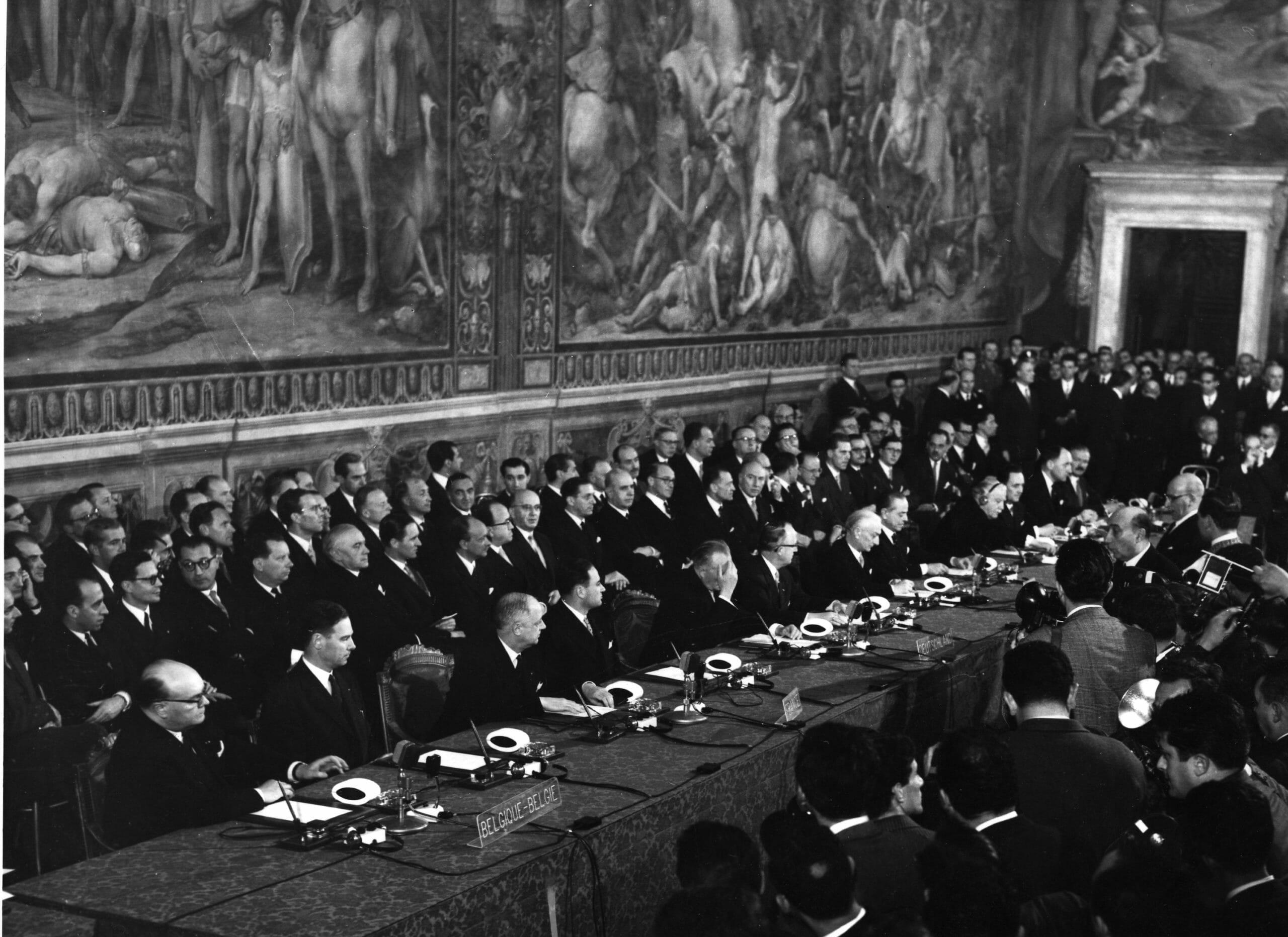 Read more about the article FAKTA: Sådan blev EU grundlagt