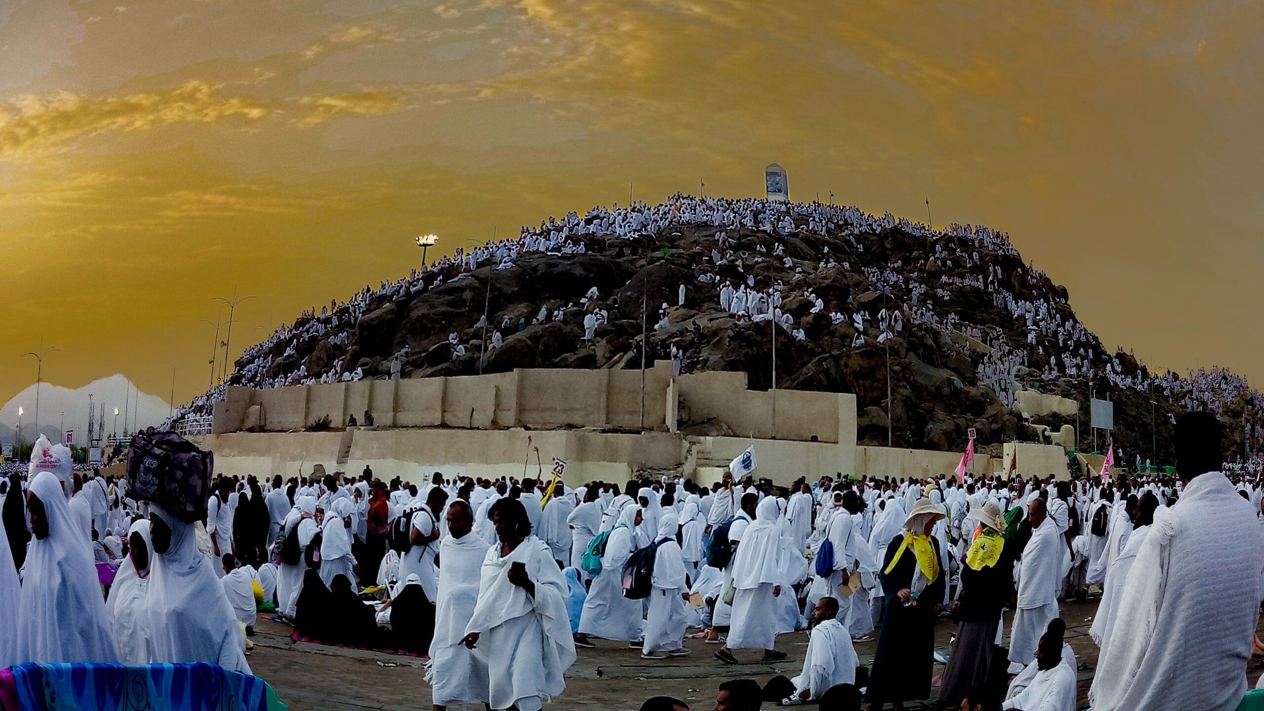 Read more about the article Millioner af muslimer på pilgrimsrejse