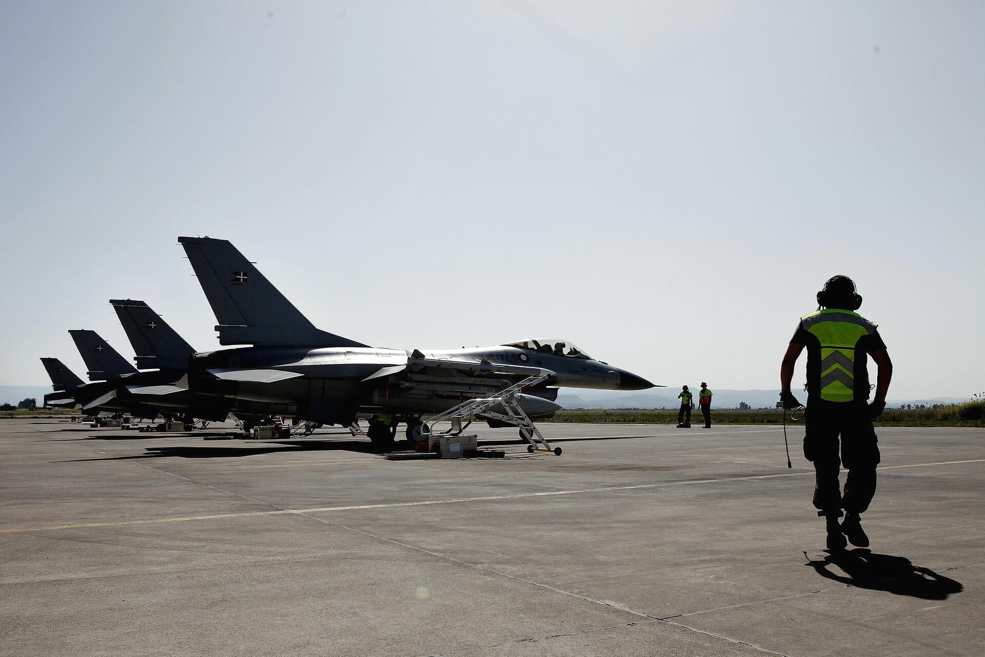 FAKTA: Koalitionen mod Libyen