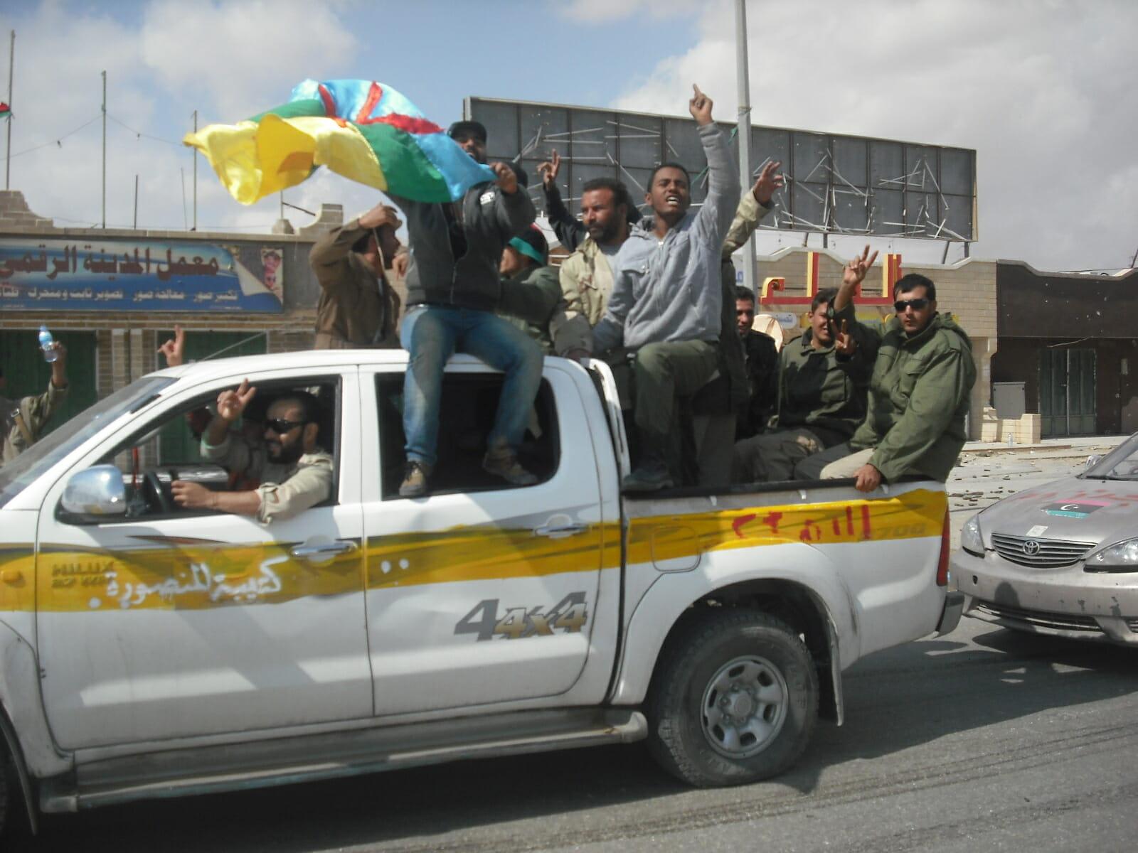 Befriet Libyen fejrer Gaddafis død