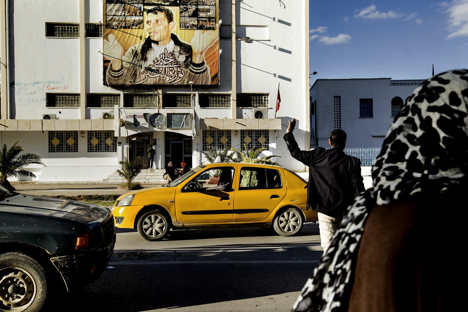 EU hylder afdød tunesisk revolutionshelt fra Det Arabiske Forår