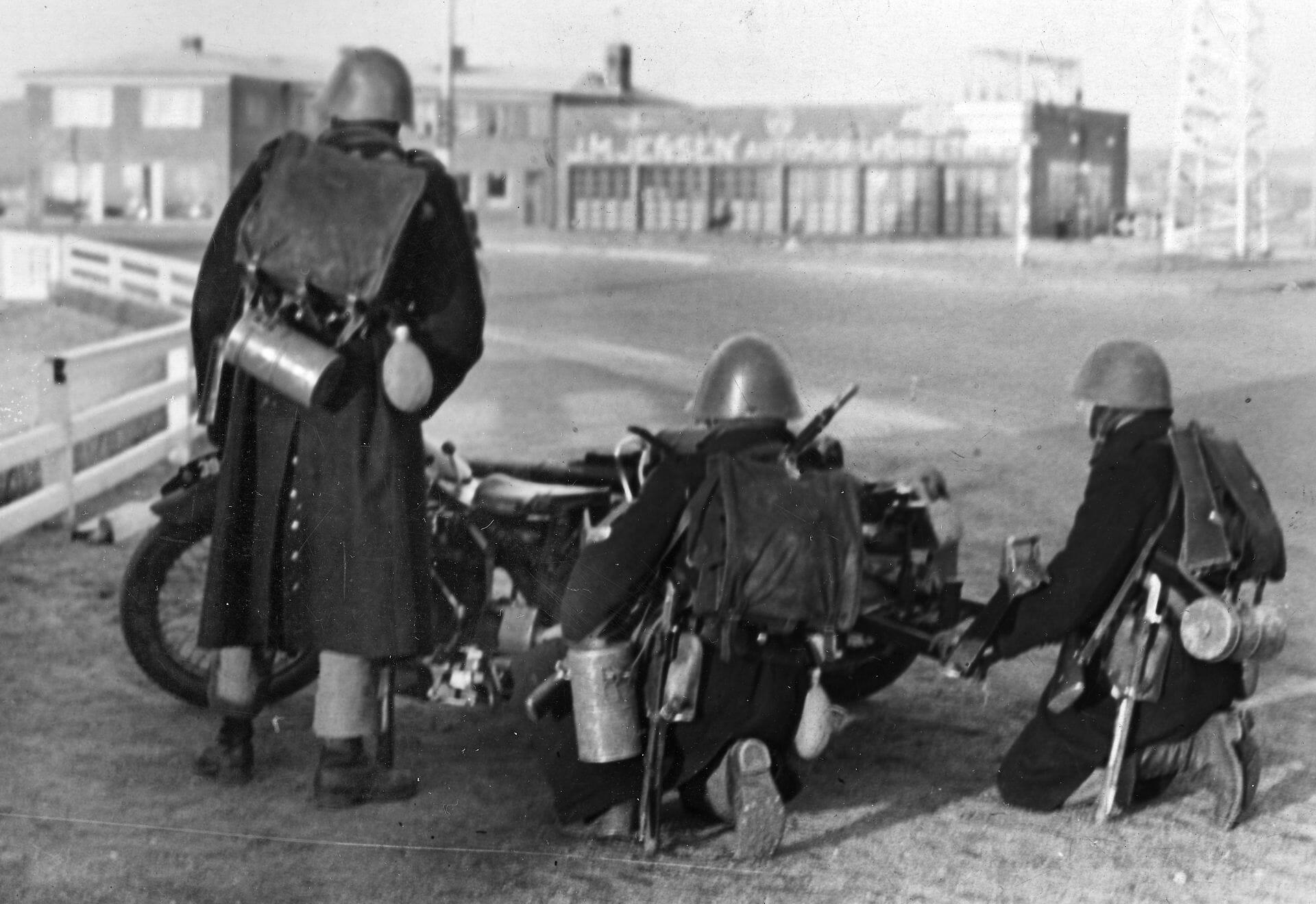 OVERBLIK: Sådan forløb besættelsen af Danmark 9. april