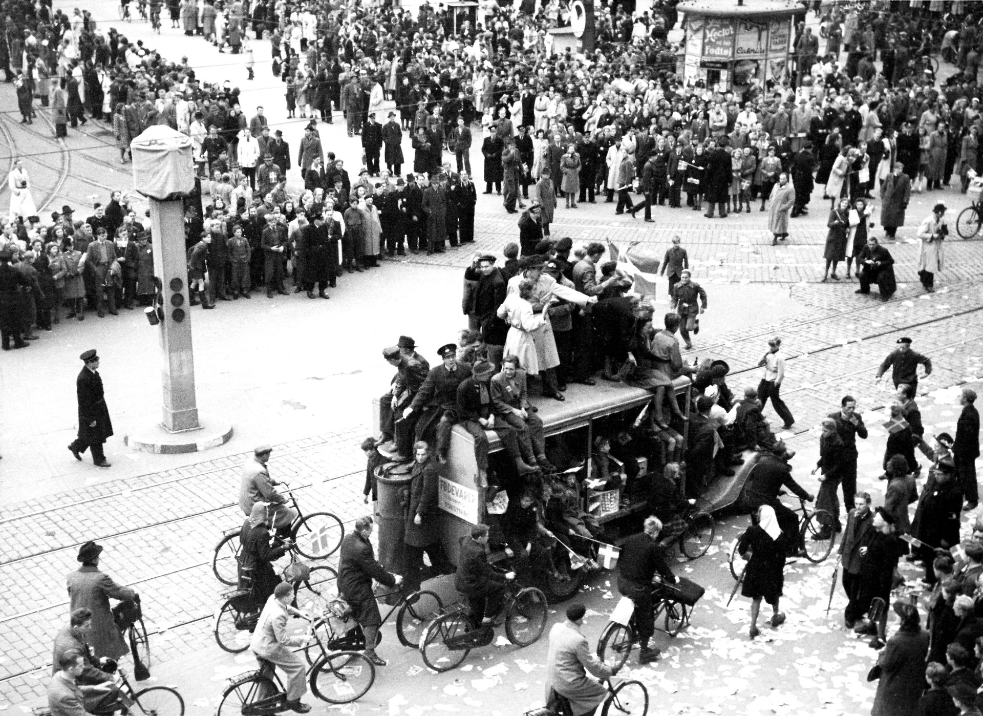 FAKTA: Sådan blev Danmark befriet i 1945