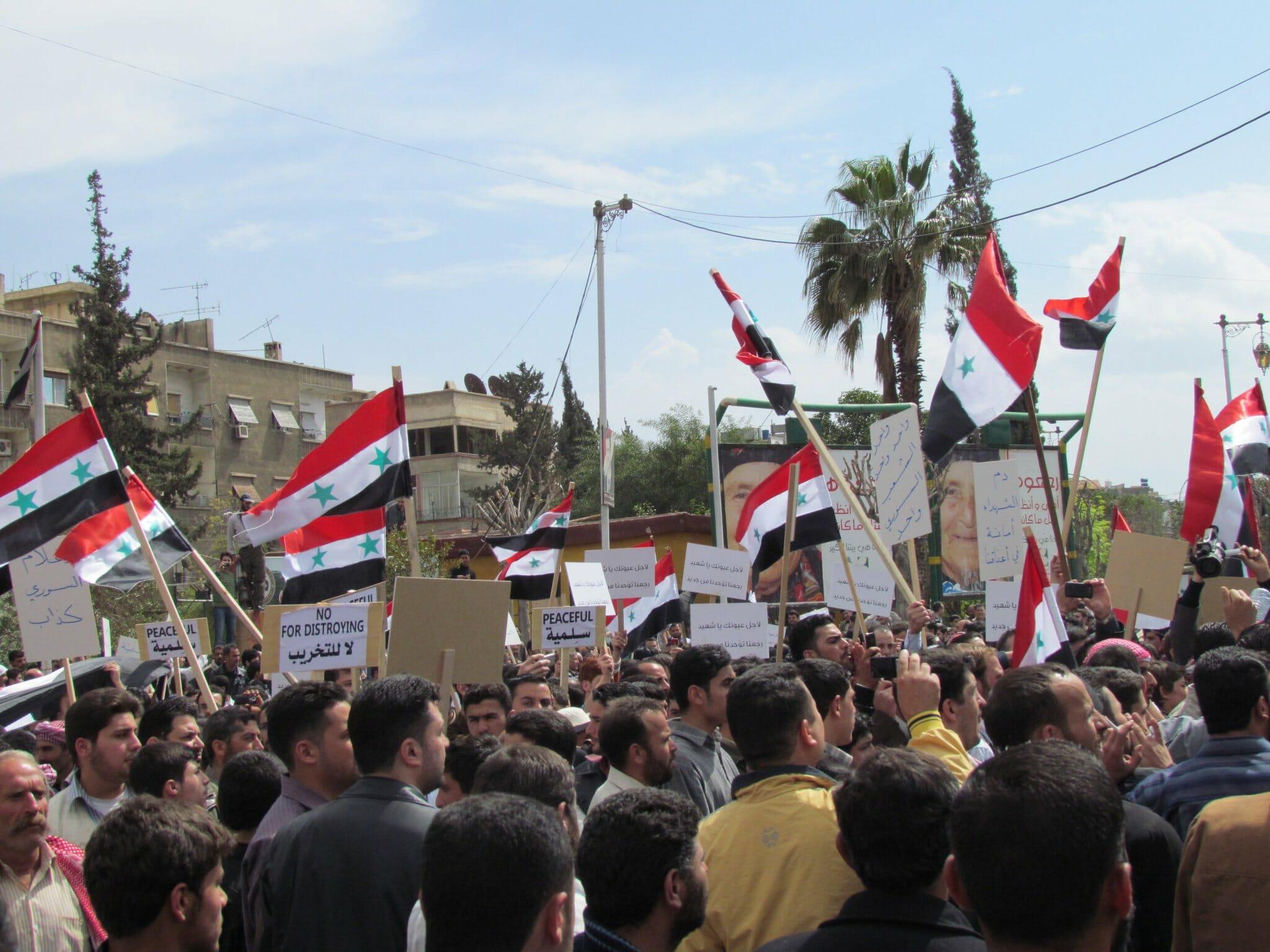 Det Arabiske Forår: Baggrunden for krigen i Syrien