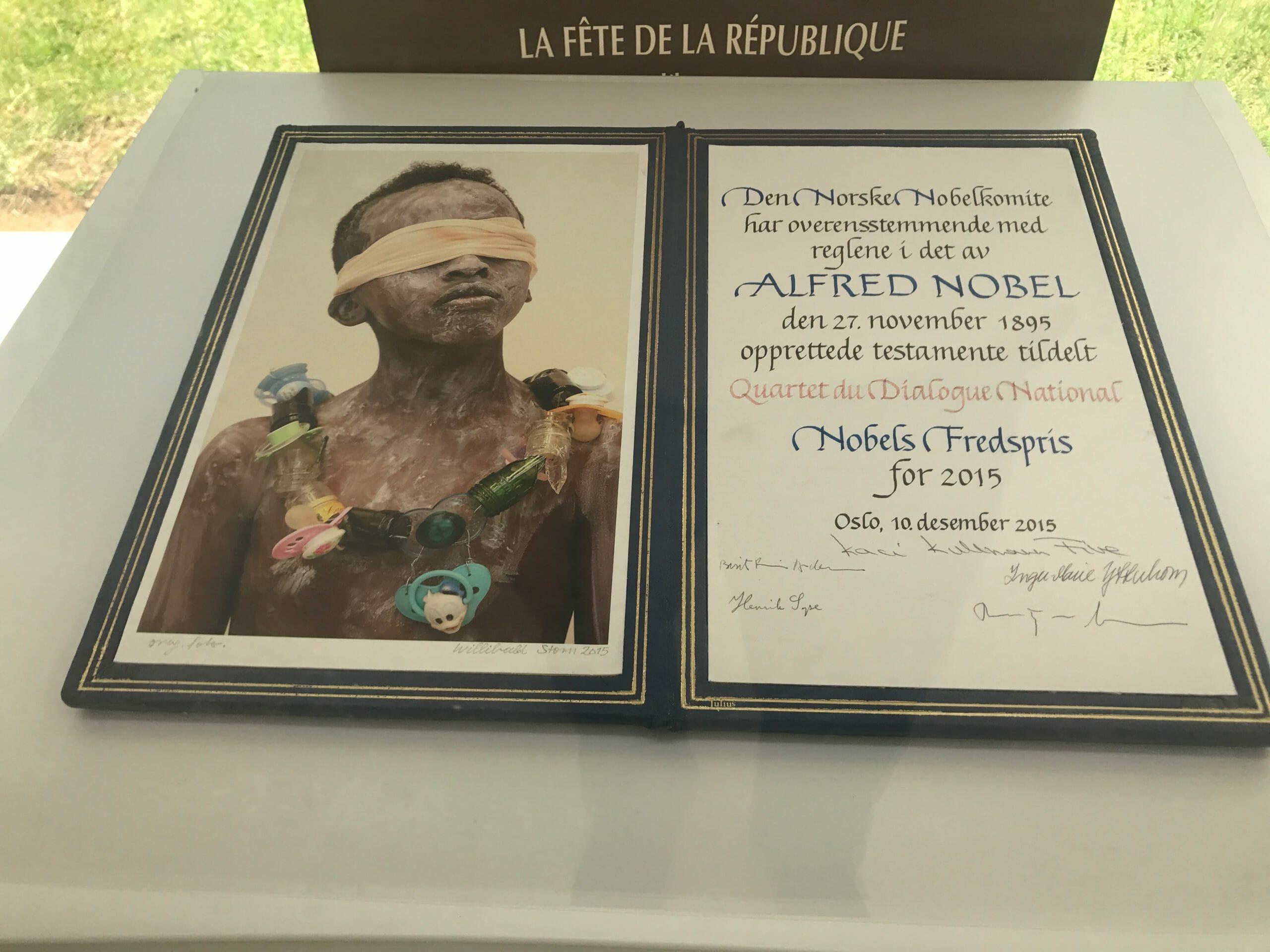 Tunesisk demokratibevægelse modtager Nobels fredspris