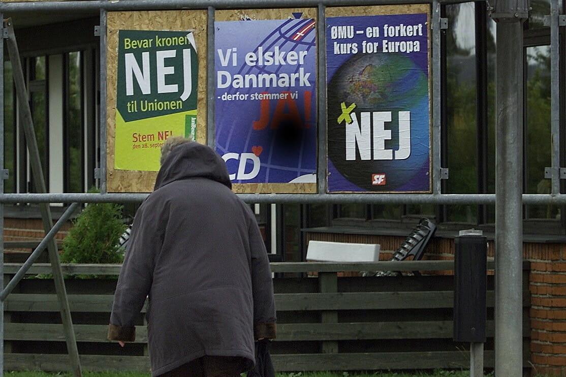 Read more about the article FAKTA: Danskerne har sagt nej i 3 af 8 EU-afstemninger