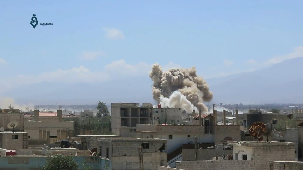 Read more about the article Daraya er evakueret fra fire års terror i Syrien
