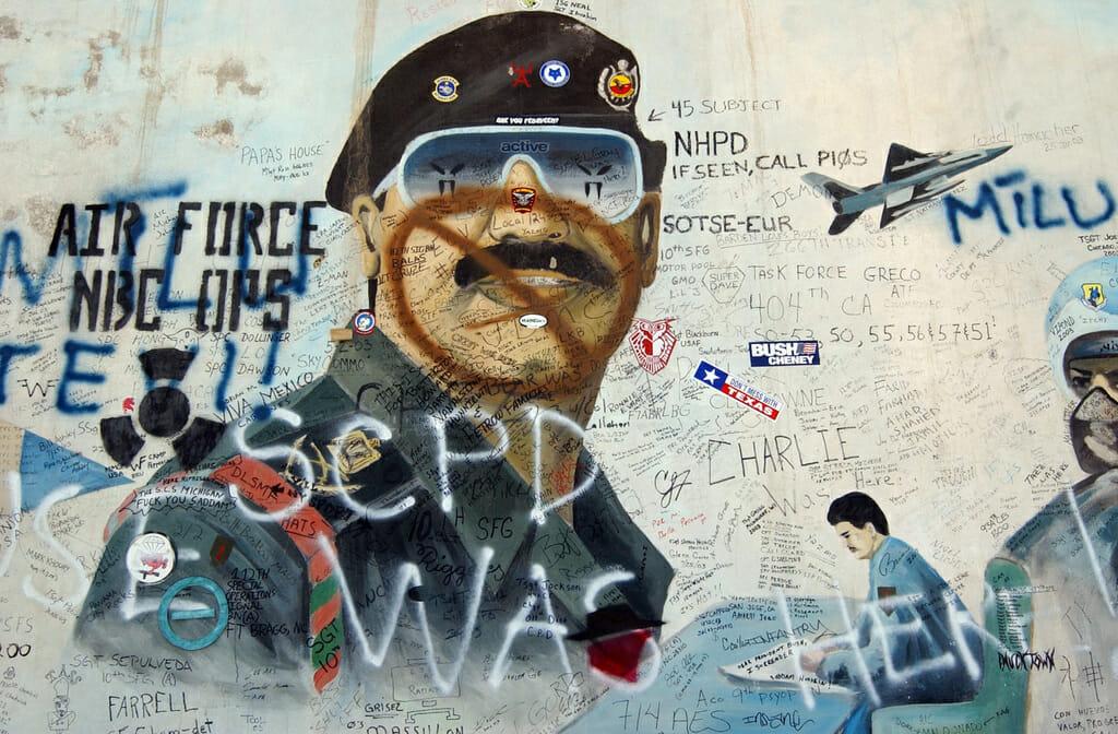 Irak-krigen: Saddam hjemsøger stadig Washington ti år efter sin død