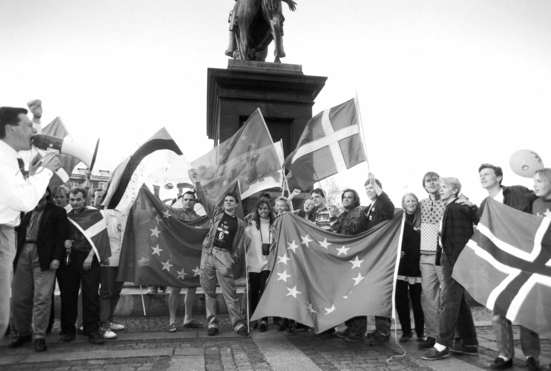 Read more about the article FAKTA: Det betød Maastricht-traktaten