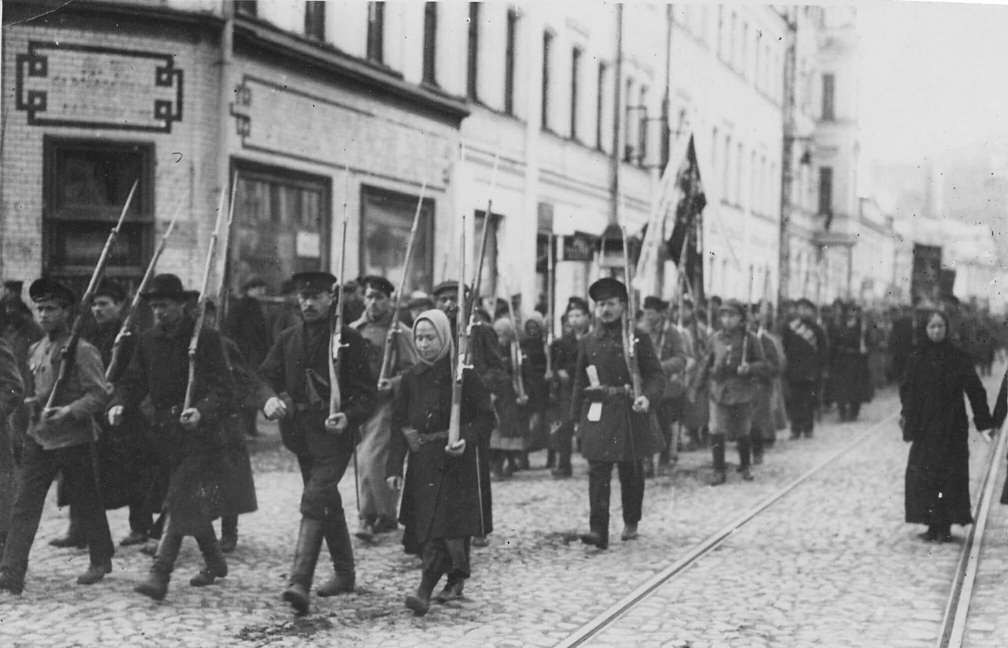 Read more about the article OVERBLIK: Oktoberrevolutionen i 1917