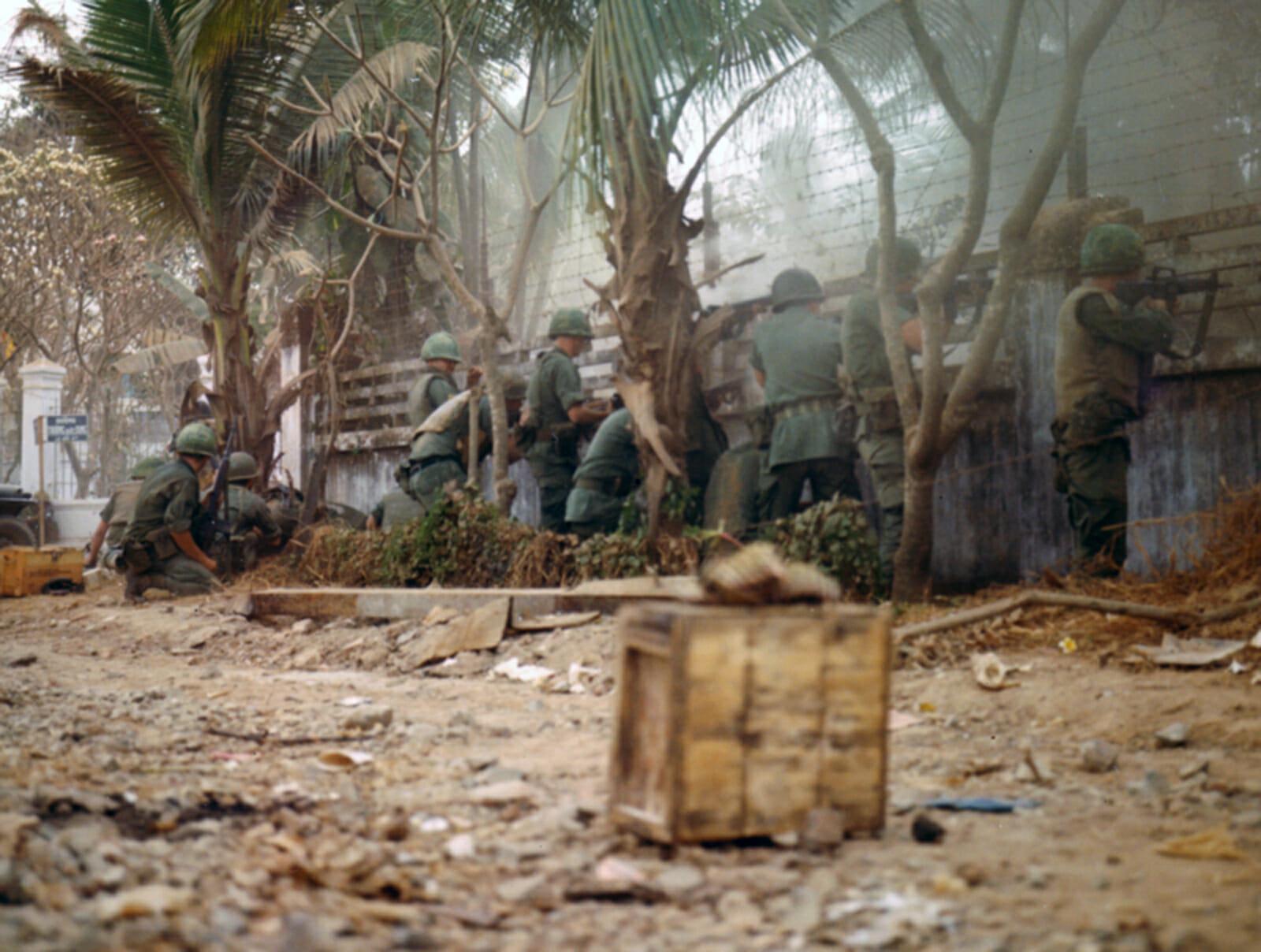 Read more about the article Tet: En offensiv der forandrede Vietnamkrigen