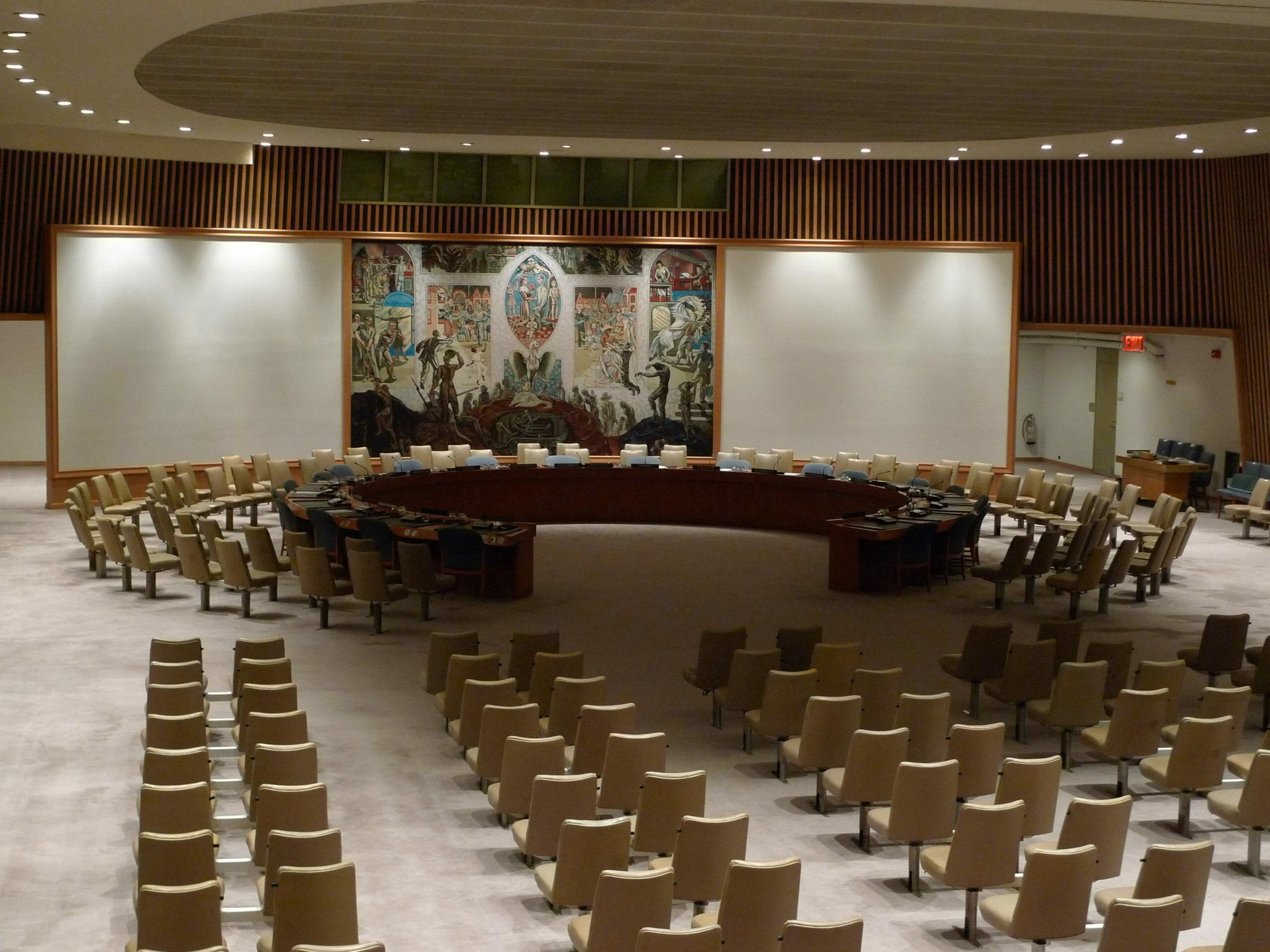 Read more about the article FAKTA: FN's Sikkerhedsråds medlemmer