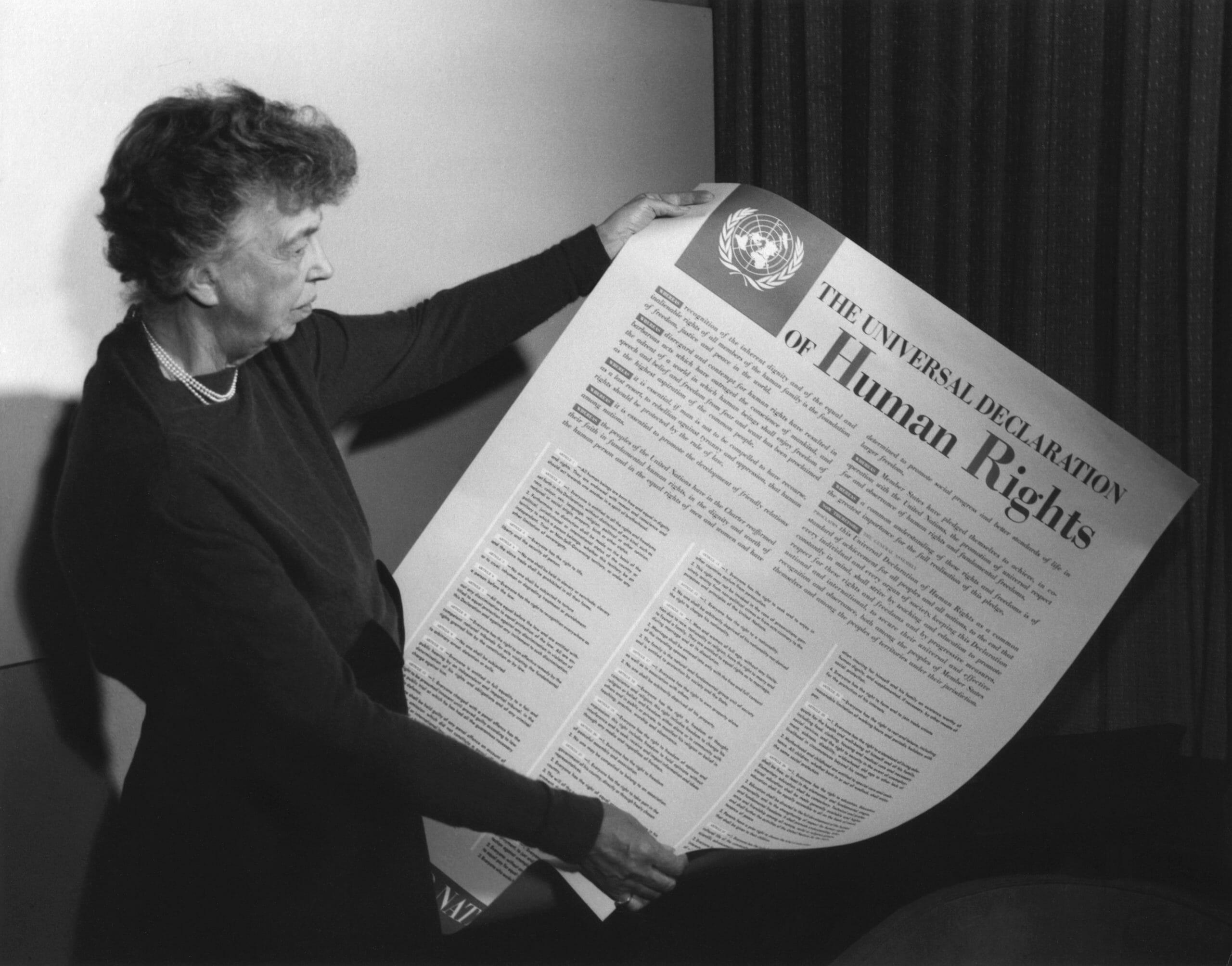 Sådan gennemsyrer menneskerettighederne din hverdag