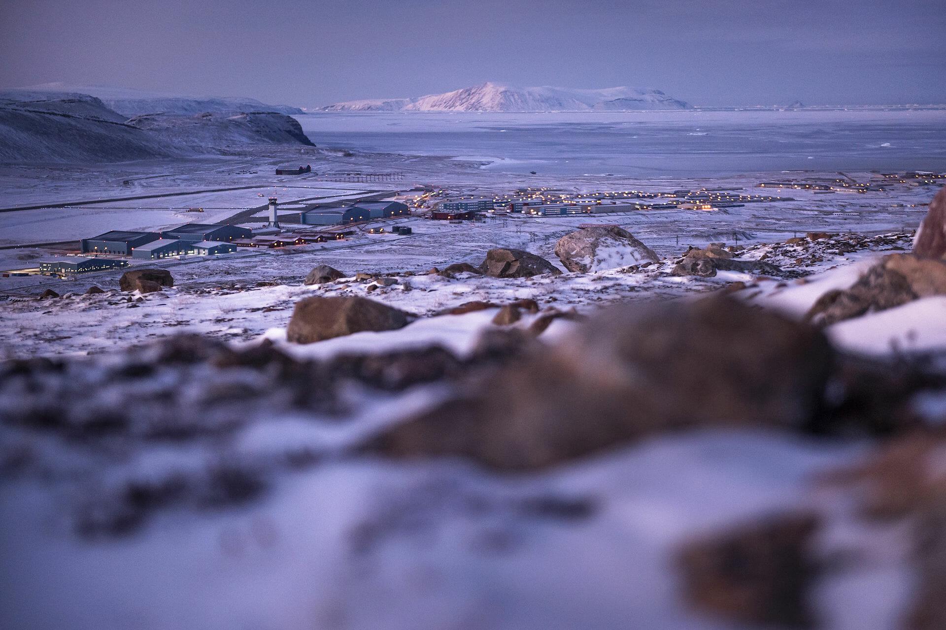 FAKTA: Thulebasen i Grønlands iskolde nordvest