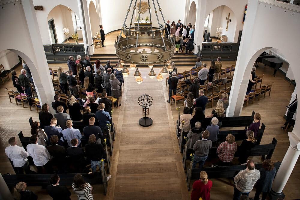 Måling: Danmark er det næstmindst religiøse land i Europa