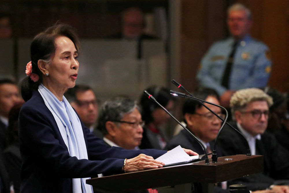 FN fordømmer Myanmars behandling af rohingyaer