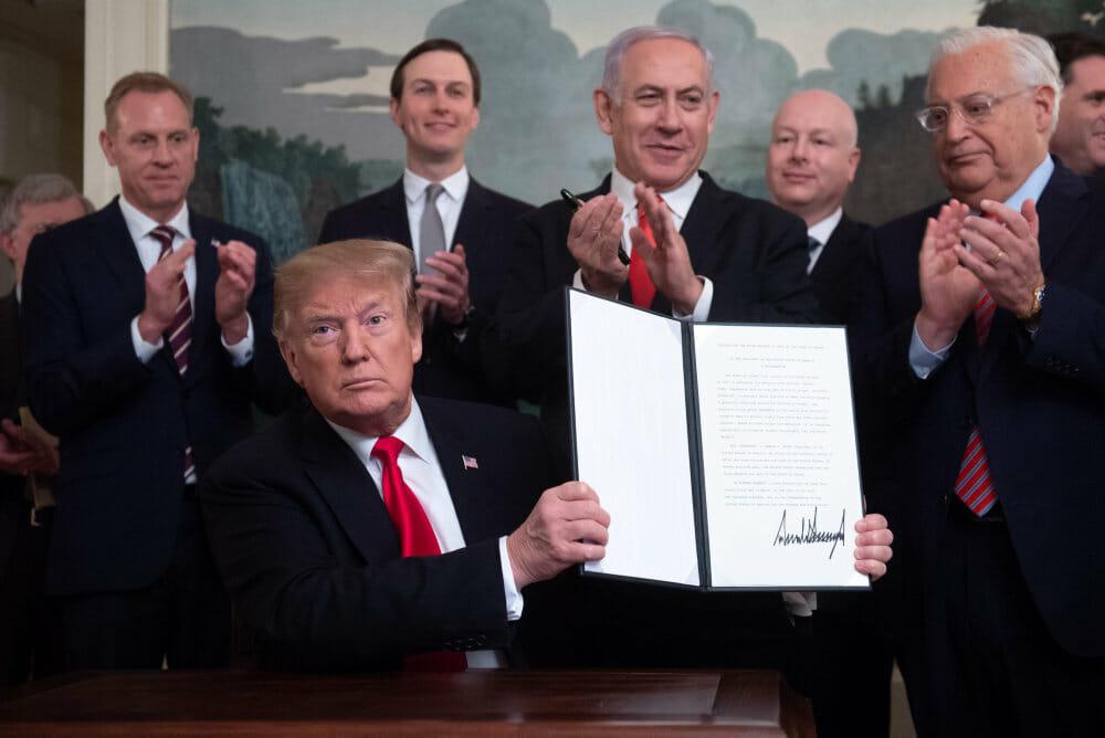 EU går imod USA: Golanhøjderne er ikke Israels territorie