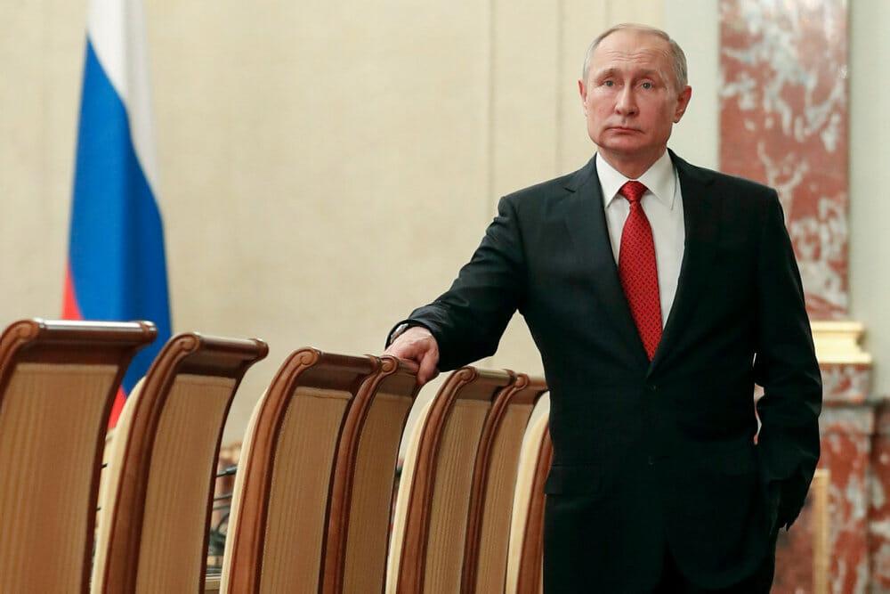 BLÅ BOG: Vladimir Putin – fra KGB-spion til Ruslands præsident
