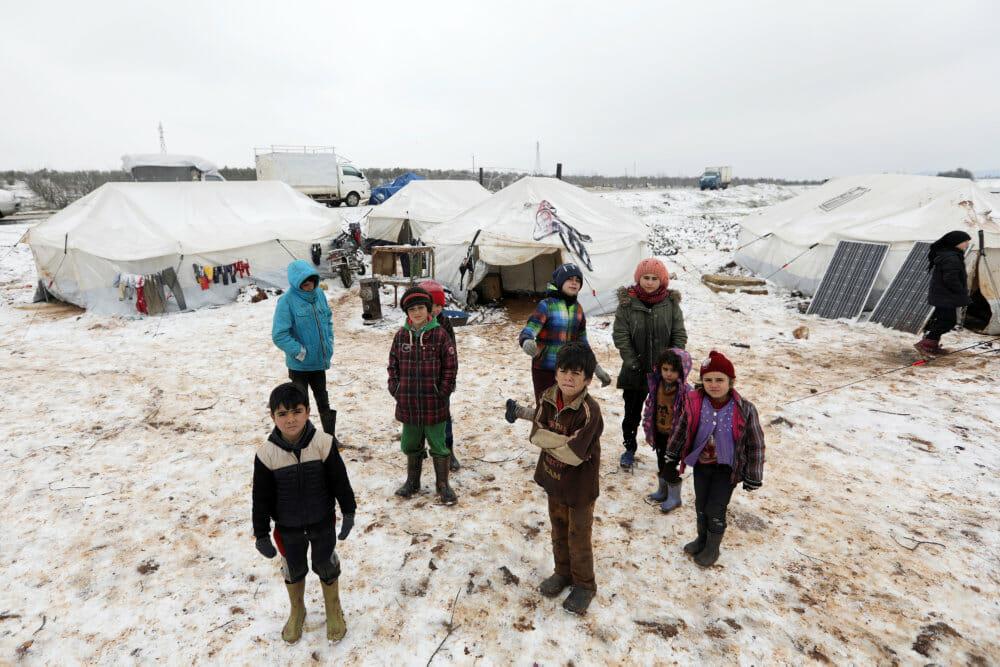 Read more about the article FN: Over 800.000 er flygtet fra Idlib siden december