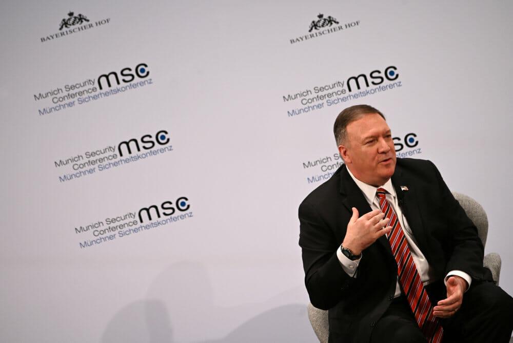 Pompeo afviser tysk kritik af USA: Vesten vinder sammen