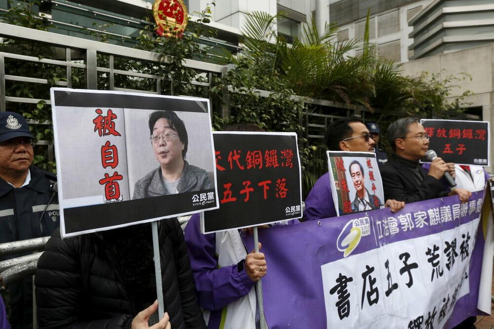 Svensk boghandler får ti års fængsel i Kina