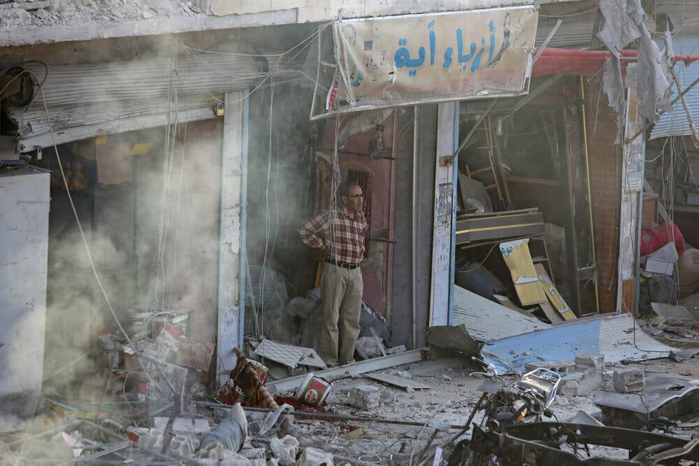 Sociale medier sletter dokumentation for krigsforbrydelser