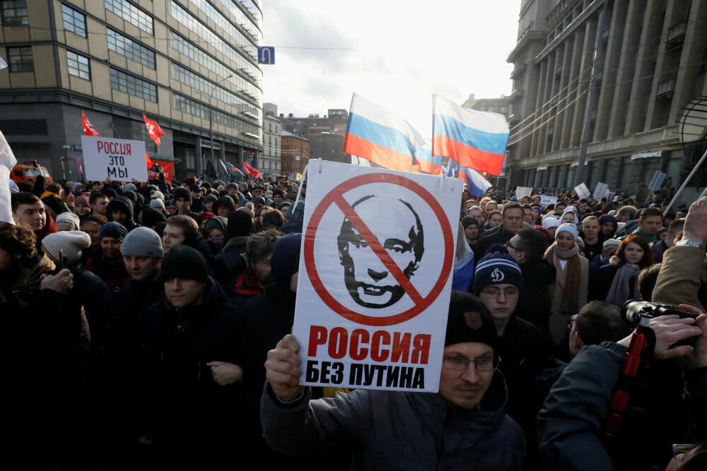 Putins grundlovsforslag: Rusland kan aldrig afgive territorier