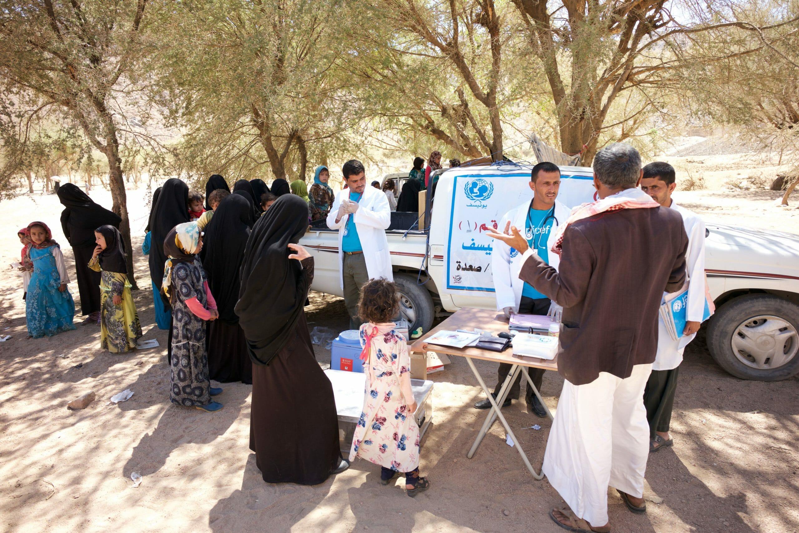 Yemen: Fem år med verdens værste humanitære krise