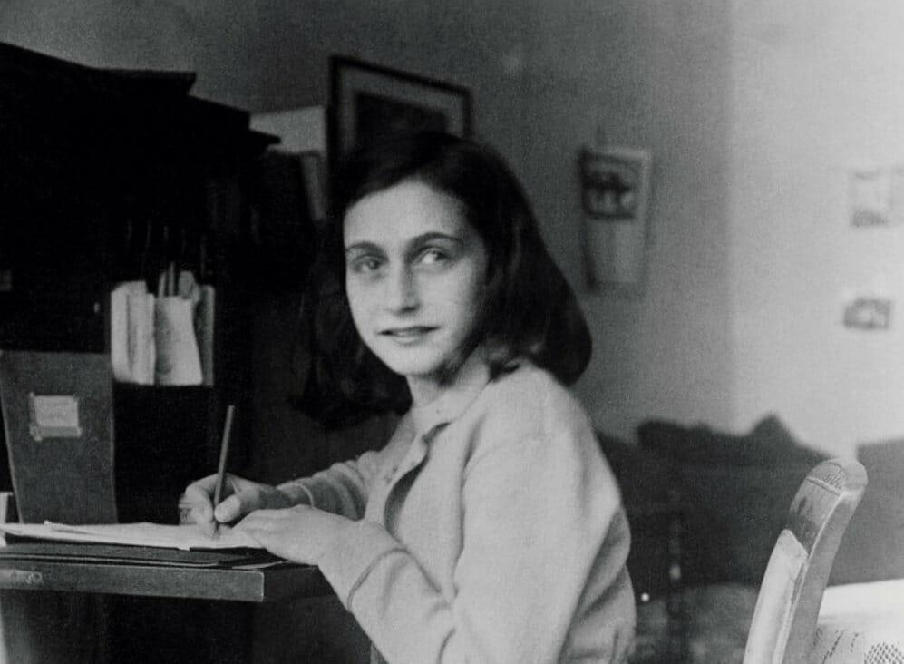 Teenagerens tanker der overlevede Holocaust