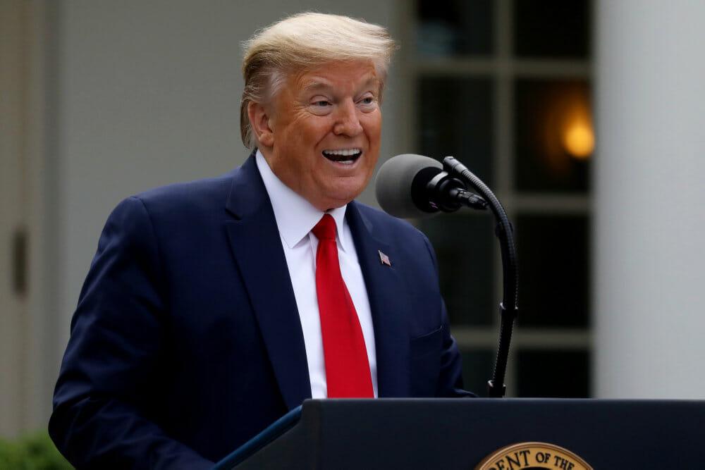 Trump standser USA's økonomiske bidrag til WHO