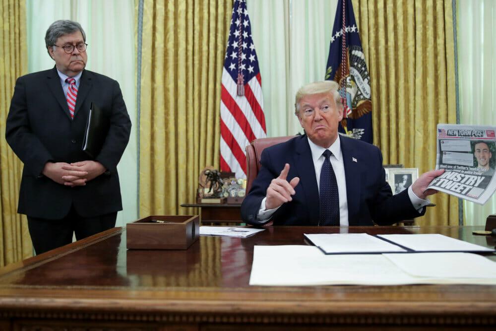 Trump underskriver dekret rettet mod sociale medier