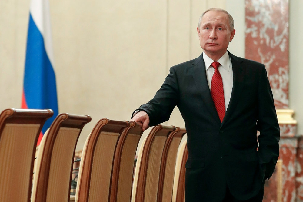 Gud i forfatningen og Putin som præsident