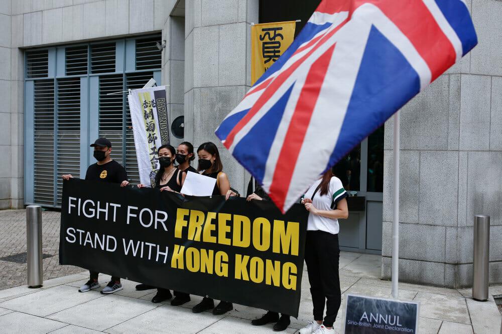 Ny sikkerhedslov svækker Hongkongs demokratiske opstand