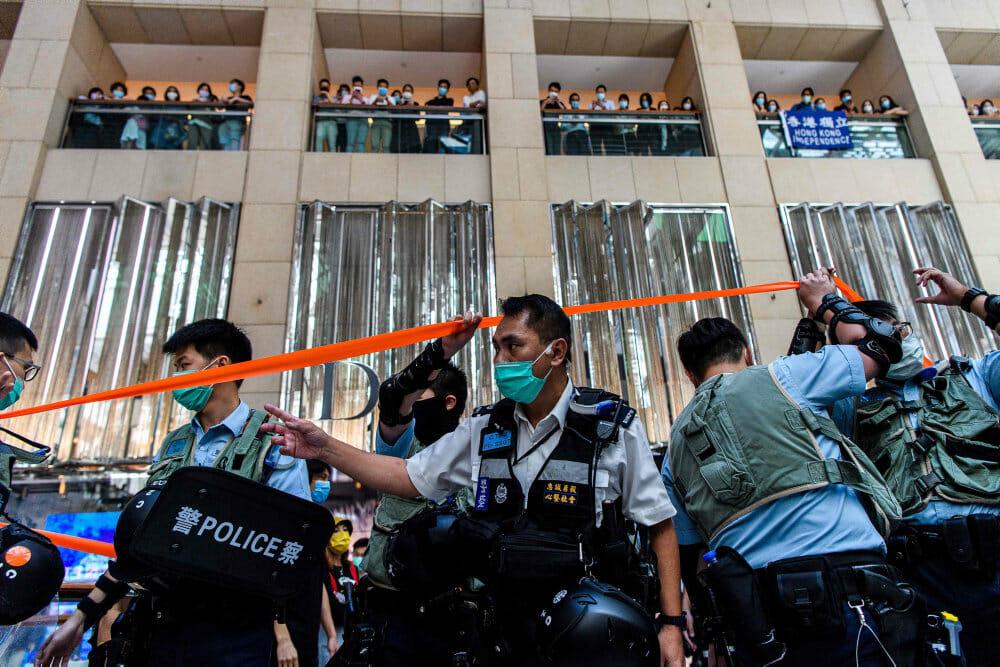Ny Hongkong-lov giver strenge straffe for oprør