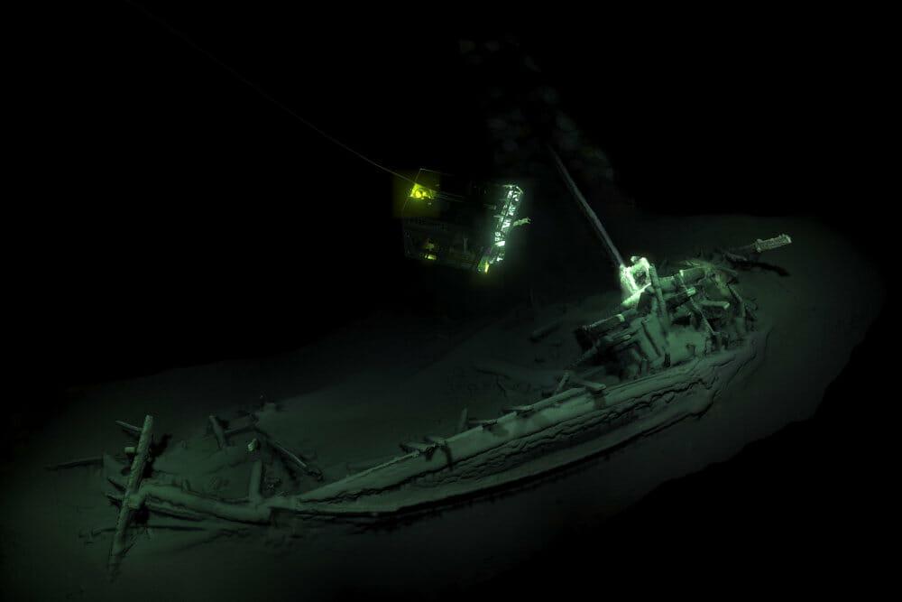 Read more about the article Arkæologer finder verdens ældste intakte skibsvrag