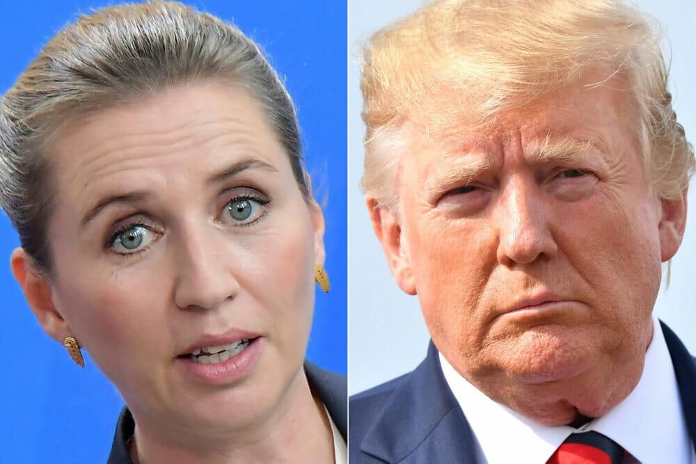 Trump udskyder dansk besøg efter afvisning af salg af Grønland