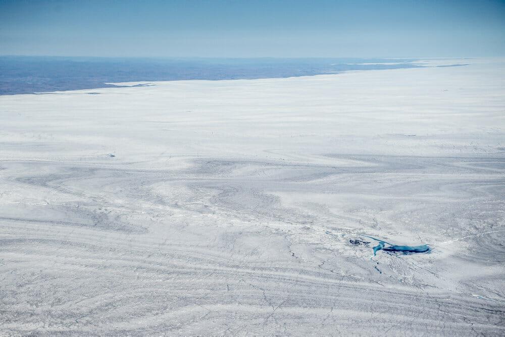 Grønlands is smelter med syvdobbelt hast