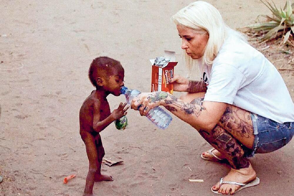 Read more about the article Anja redder heksebørn i Nigeria: Bagsiden af medaljen er kæmpestor