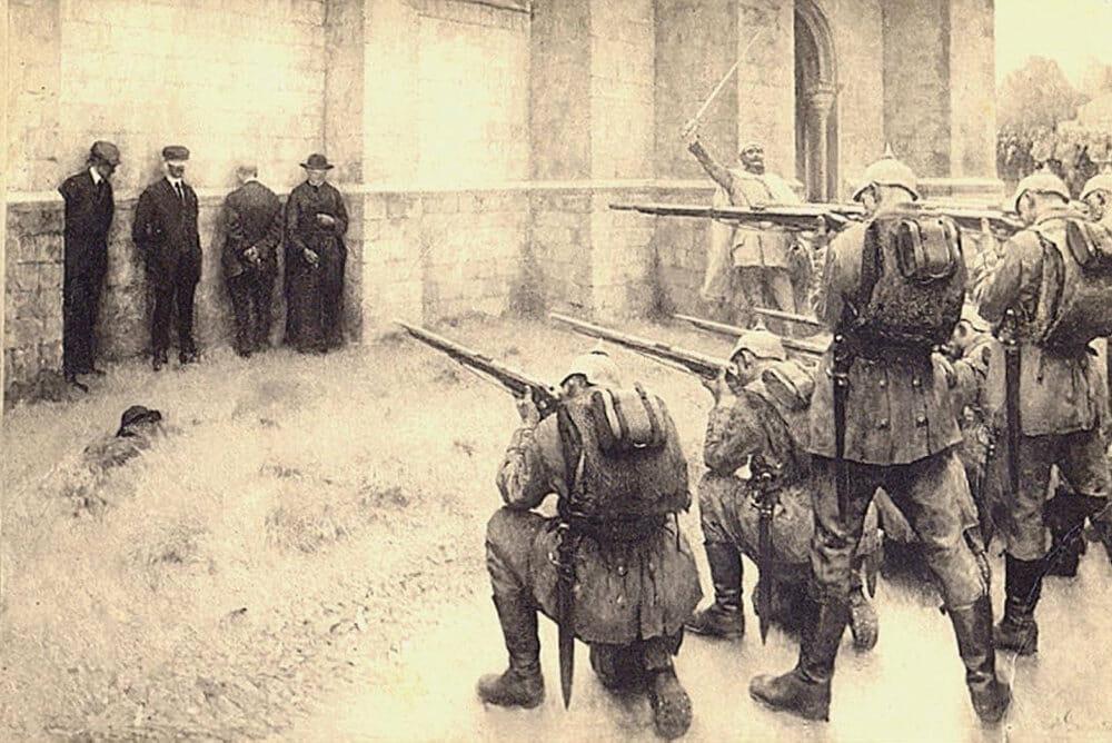 Read more about the article Sønderjyder indgik i overgreb mod belgiere i Første Verdenskrig