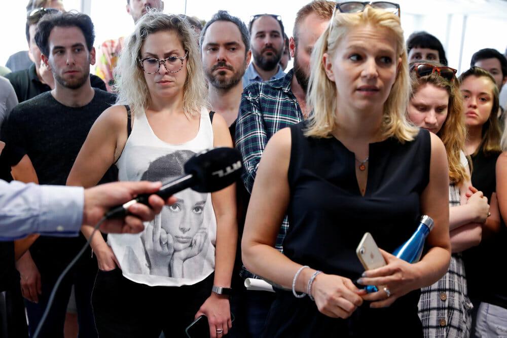 Journalister går fra førende ungarsk nyhedsmedie i protest