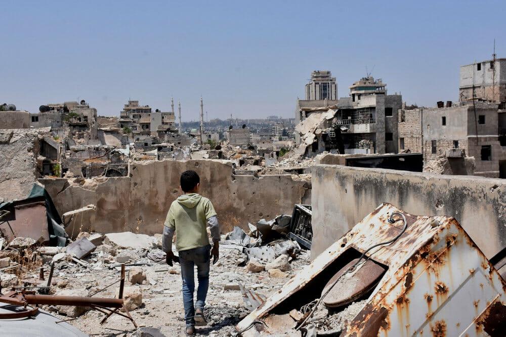 Read more about the article Mange flygtninge vender hjem til Aleppo