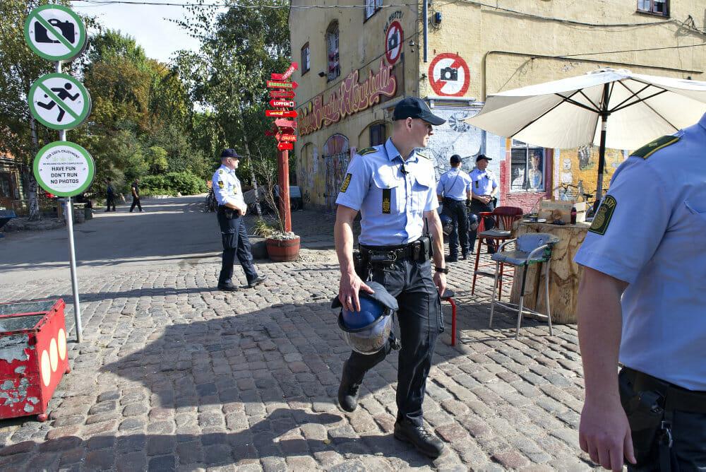 Hver dag ny fængsling for hash i Christiania