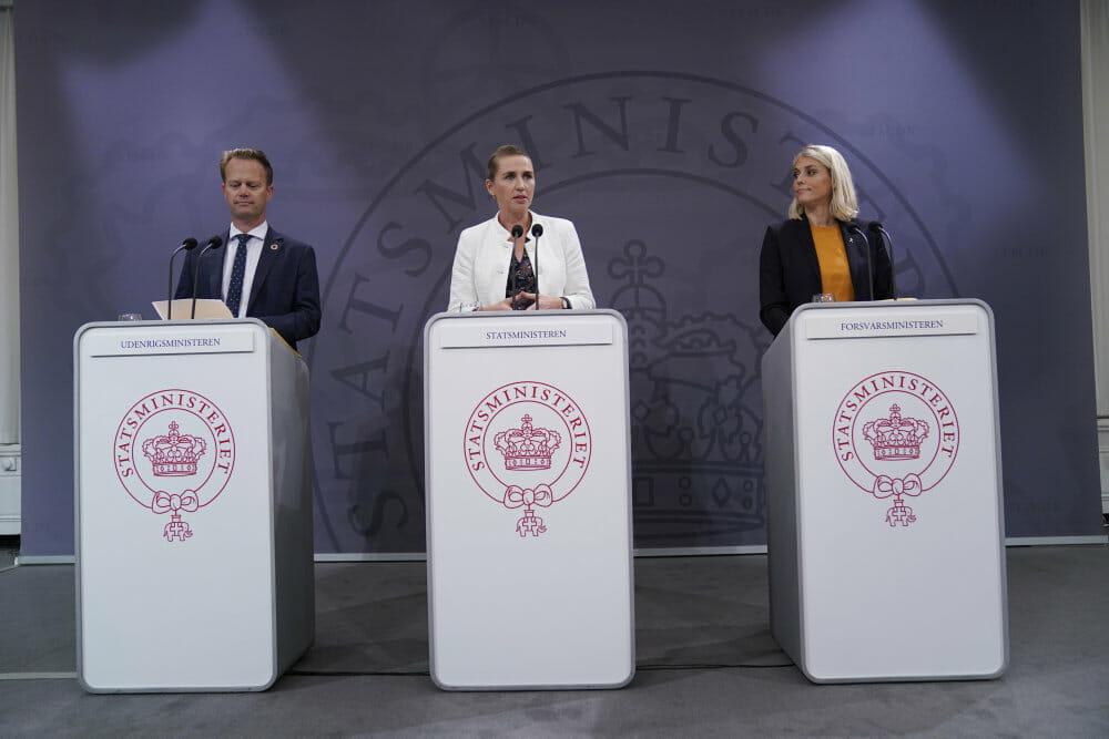 Mette Frederiksen: Vi skal føre en aktiv udenrigspolitik