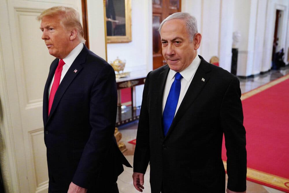 Fredsplan: Trump ønsker palæstinensisk stat med hovedstad i Østjerusalem