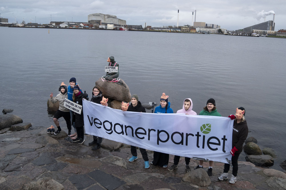 Veganerpartiet er klar til folketingsvalg