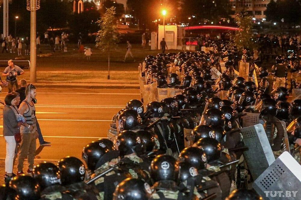 Uro i Hviderusland efter påstået storsejr til præsident