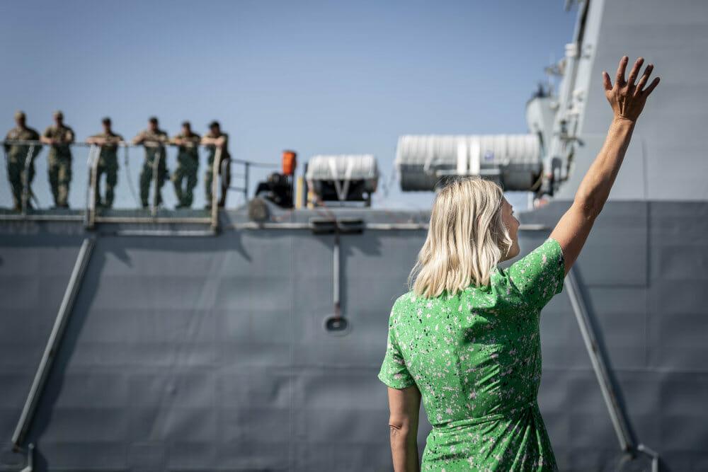 Read more about the article Dansk fregat er stævnet ud mod Hormuzstrædet