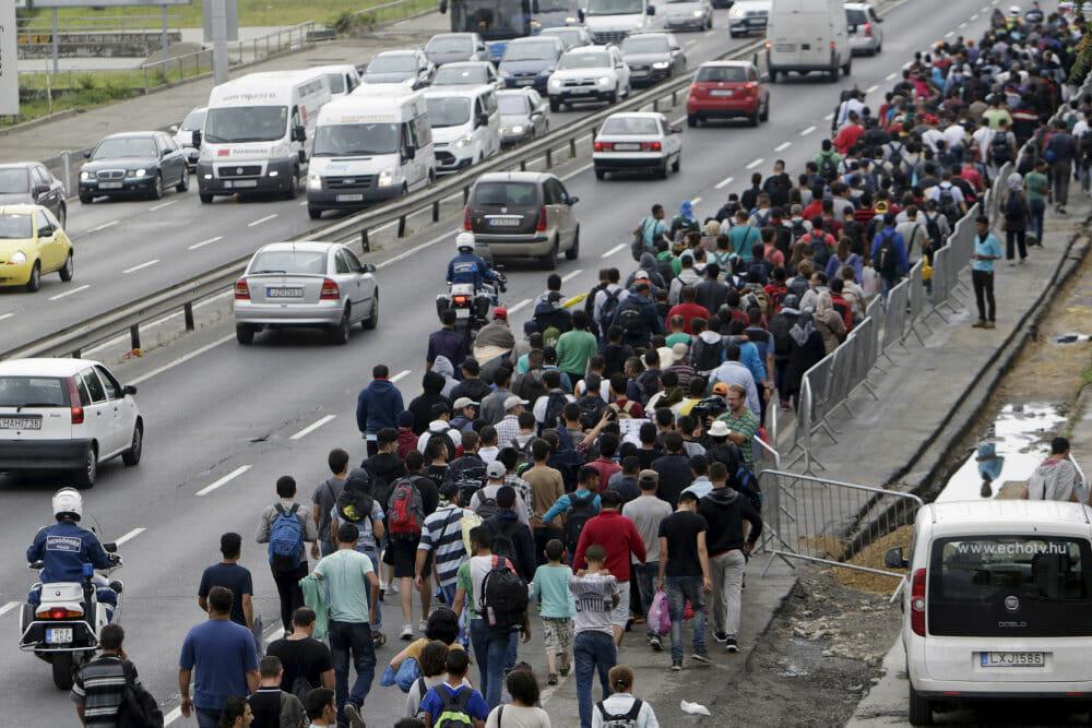 2015: Da migranter løb Europa over ende