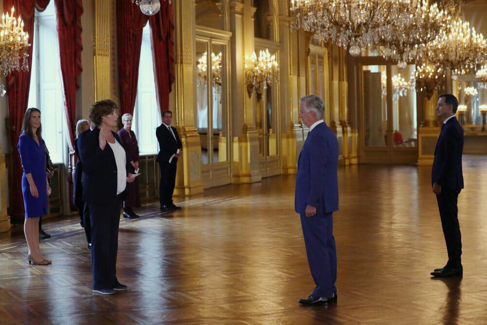 Belgiens transkønnede vicestatsminister vil skabe debat
