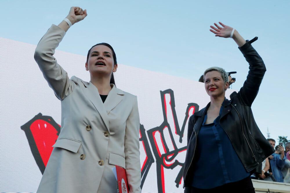 Hvideruslands opposition får stor EU-pris: I bærer sandheden